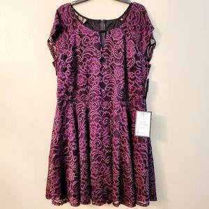 City Studio Lace Dress NWT